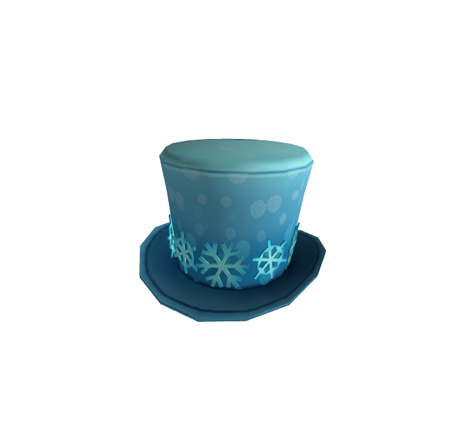 Snowflake Banded Top Hat