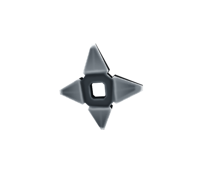 Ninja Star Ammo (cool shuriken)