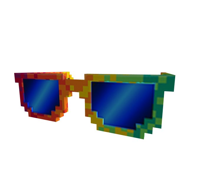 Rainbow Pixel Shades