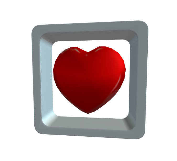 Floating Heart Canister