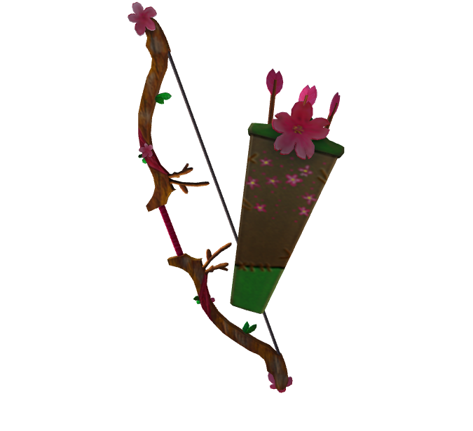 Cherry Blossom Bow And Quiver