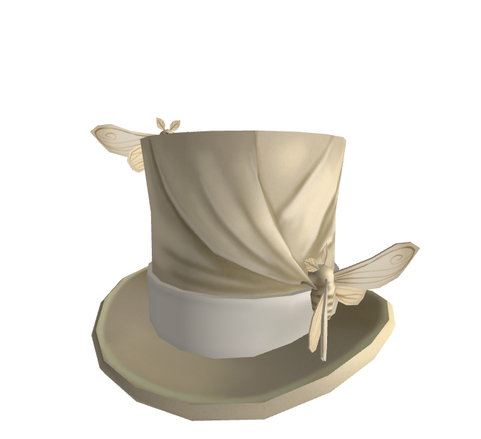 Silkworm Moth Top Hat