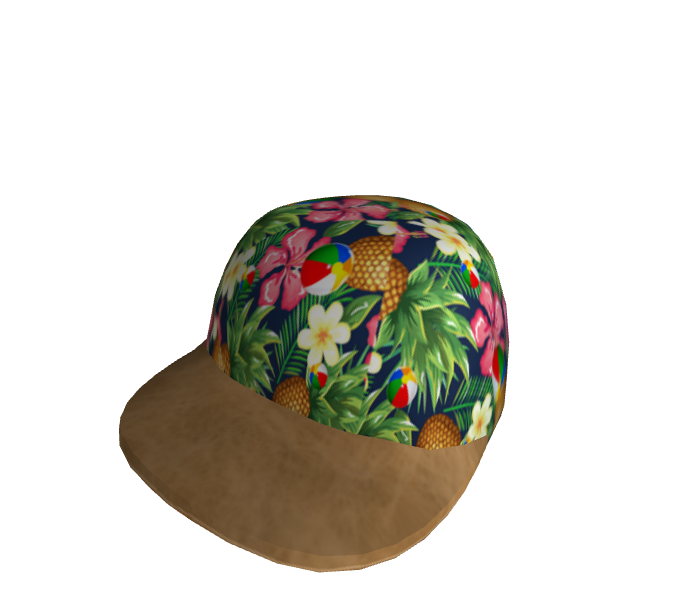 Leather Brimmed Summer Cap