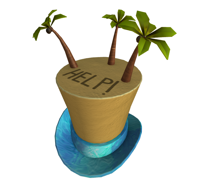Deserted Island Top Hat