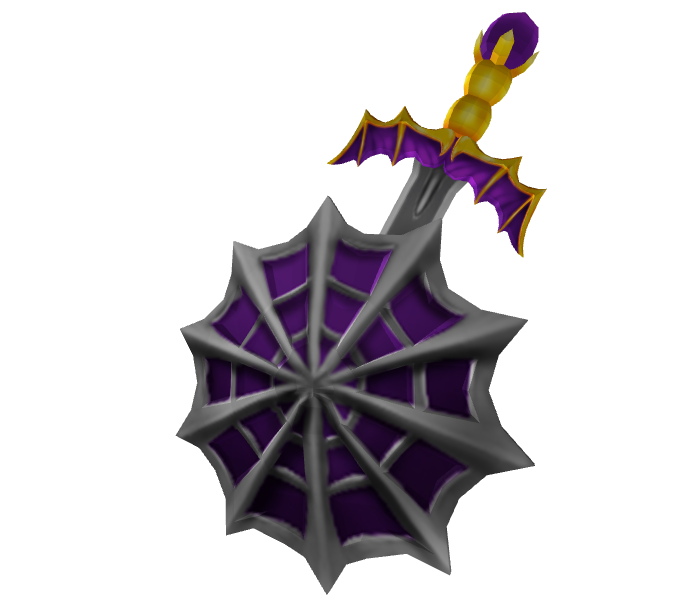 Spider Web Sword and Shield