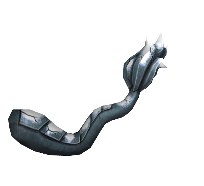 Snow Covered Gargoyle Tail (Rthro)