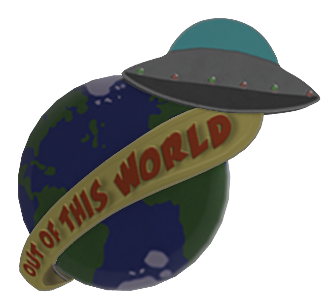 Out of this World Lapel Pin