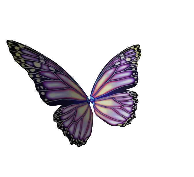 Butterfly Hair Accessory V2 (UGC)